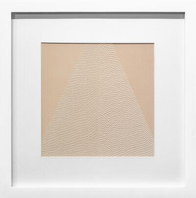 Lucha Rodriguez, 'Knife Drawing Monochromatic Path', 2019