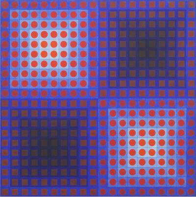 Victor Vasarely, 'EG', 1965