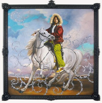 Kehinde Wiley, 'Colonel Platoff on his Charger', 2007