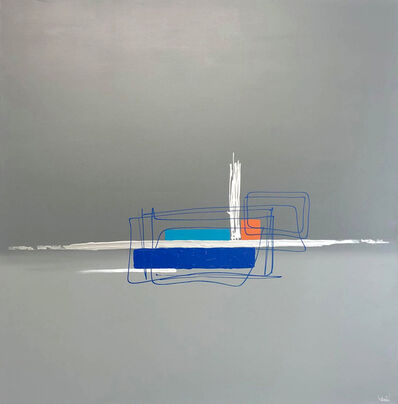 Sév., 'Série The wall: The wall bleu', 2019