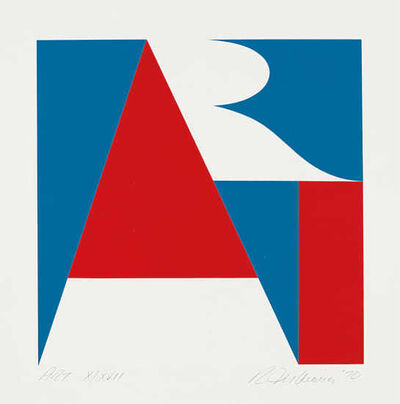 Robert Indiana, 'The American Art', 1970