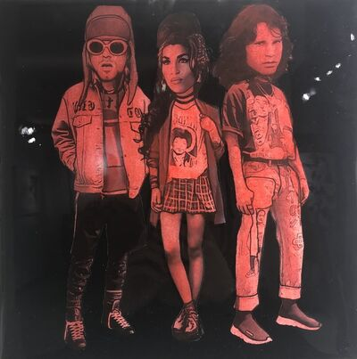 The Producer BDB, 'Kurt Cobain, Amy Winehouse, and Jim Morrison', 2019