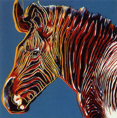 Andy Warhol, 'Endangered Species: Grevy's Zebra, II.300', 1983