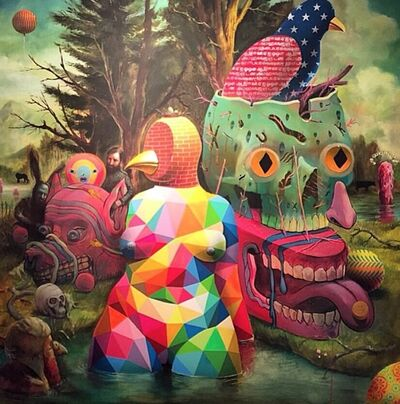 Charlie Immer, 'Theriomorphism (Collaborative Work+Okuda+Smithe)', 2015