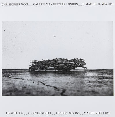 Christopher Wool, 'Galerie Max Hetzler London', 2020