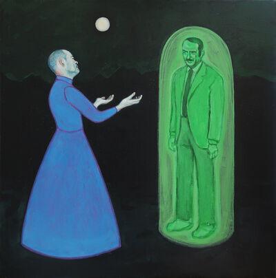 Guillaume Pinard, 'Apparition d'un ectoplasme de Jean-Pierre Marielle à la Raccon Academy ', 2019