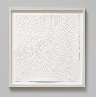 Günther Uecker, 'White Structure', 1965