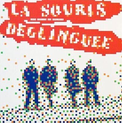 Invader, 'La Souris Déglinguée', 2014