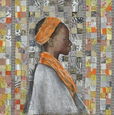 Katherine Bakhoum-Tisné, 'Profil Orange', 2018
