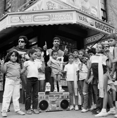 Janette Beckman, 'Lower East Side Freshmen, NYC', 1988