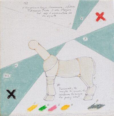 Gianfranco Baruchello, 'Da: disavventure di Tarquinio Prisco', 1979