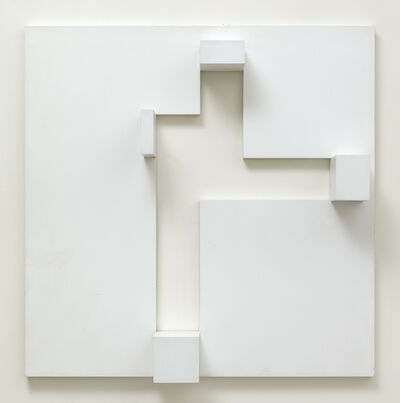 Peter Lowe, 'White Relief 2', ca. 1975