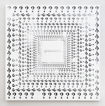 Miao Ying, 'Blindspot-Dilettante', 2019
