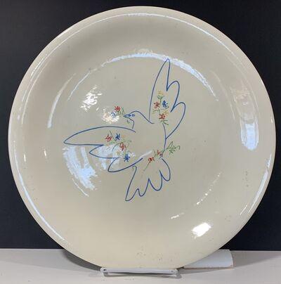 Pablo Picasso, 'Picasso Peace Dove ceramic plate', ca. 1950s
