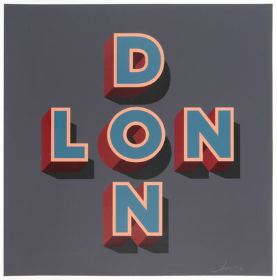 Gary Stranger, 'London (First Edition)', 2014