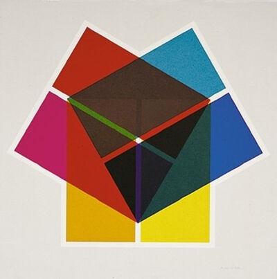 Anton Stankowski, 'Drei Quadrate', 1974