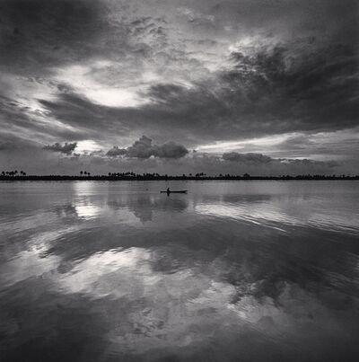 Michael Kenna, 'Single Boat, Kerala, Backwaters, India', 2008