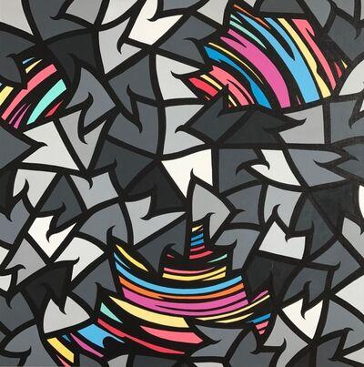 MAR aka Spencer Guilburt, 'Geometry is Vibration', 2017