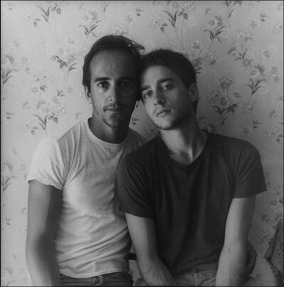 David Armstrong, 'Bruce and George, Provincetown', 1977