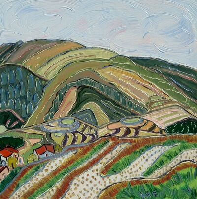 Nan Hass Feldman, 'Morning at the Rice Terraces', 2011/ 2012