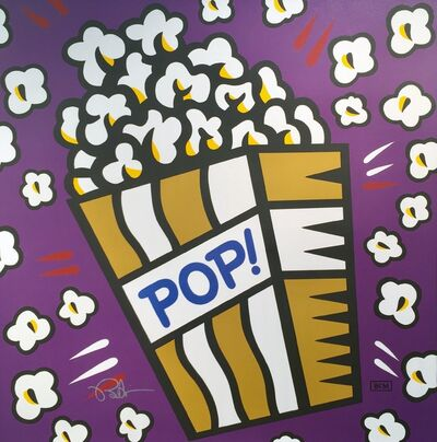 Burton Morris, 'Pop! (Deep Purple)', 2017