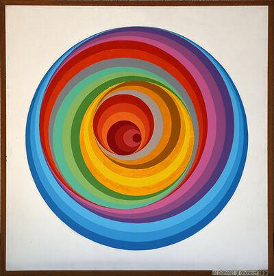 Abdulio Giudici, 'Los planetas al amanecer', 1991
