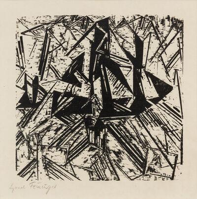 Lyonel Feininger, 'Barke Und Brig Auf See', 1918