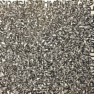 John Adelman, 'Perioplic', 2019