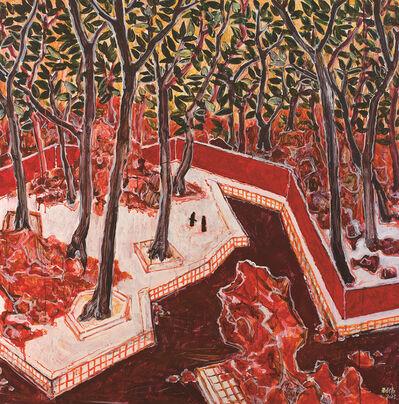 GUO Liwei, 'Travelling in the Garden series-inside & outside the wall', 2013