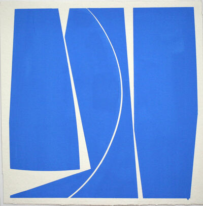 Joanne Freeman, 'Covers 18 Cobalt Blue ', 2016