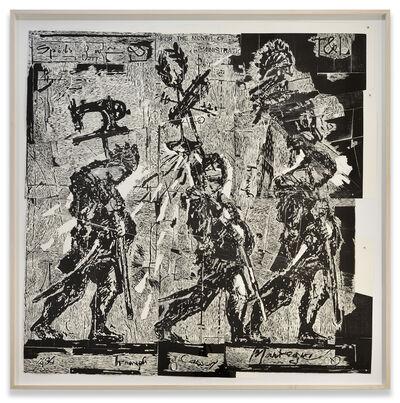 William Kentridge, 'Mantegna', 2016