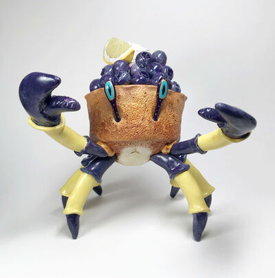 Corina St. Martin, 'Blueberry Lemon Tart Flavored Crabcake', 2019