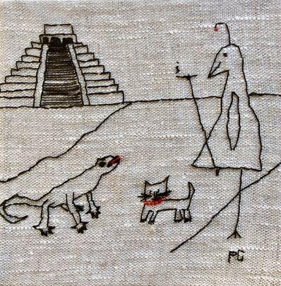 Peg Grady, 'Smoking Bird Explores Ancient Mexican History', ND