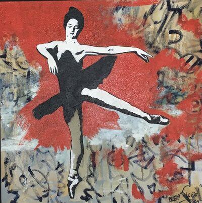 Blek le Rat, 'Danseuse', 2009