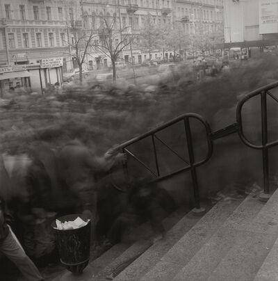 Alexey Titarenko, 'Crowd Going to Vasileostrovskaya Metro Station', 1993
