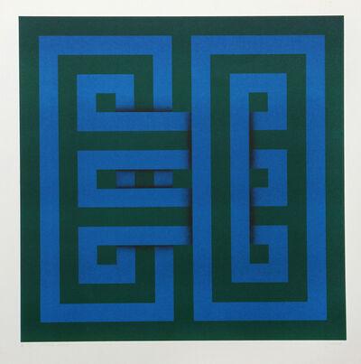 Omar Rayo, 'Saphan', 1969