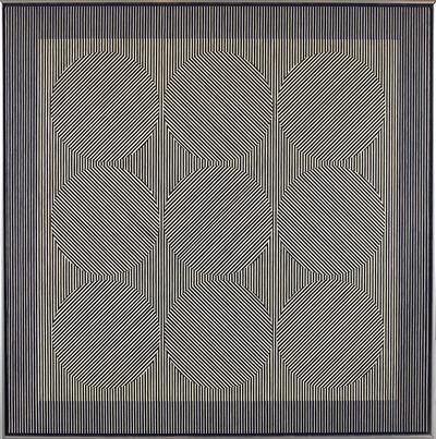 Julian Stanczak, 'Vibrant Rest', 1965