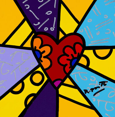 Romero Britto, 'To Dream Series: Heart', 2018