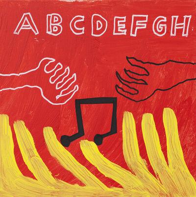Frode Felipe Schjelderup, 'Music red', 2015