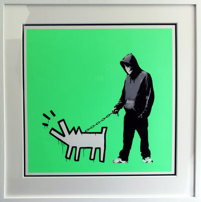 Banksy, 'Choose Your Weapon (Fluorescent) ', 2010