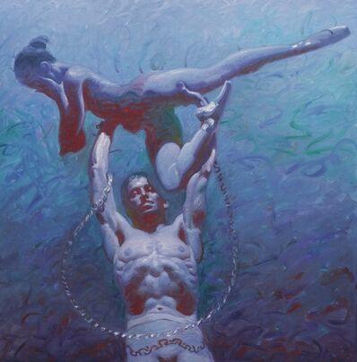 John Asaro, 'Phrygia - Spartacus - Ashamed Lift', 2020