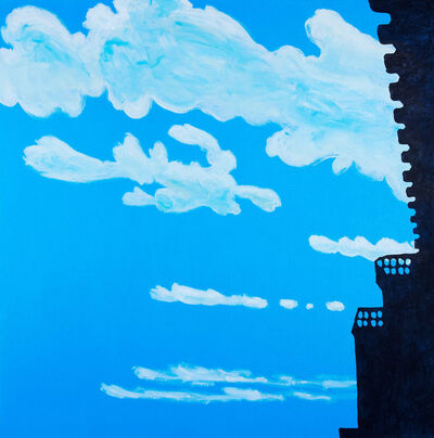 Nobuyuki Takahashi, 'Clouds and Castle', 2015