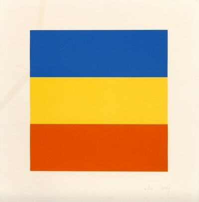 Ellsworth Kelly, 'Blue/Red/Yellow', 1992