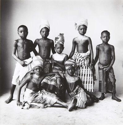 Irving Penn, 'Dahomey Children, Dahomey', 1967