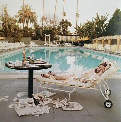Terry O'Neill, 'The Morning After, Faye Dunaway at the pool (1977)', 2019