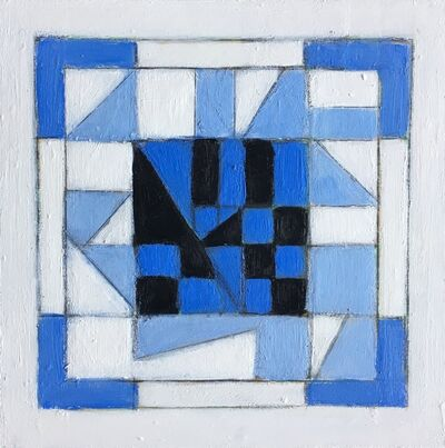 Susan O'Doherty, 'Blue Link #1', 2018