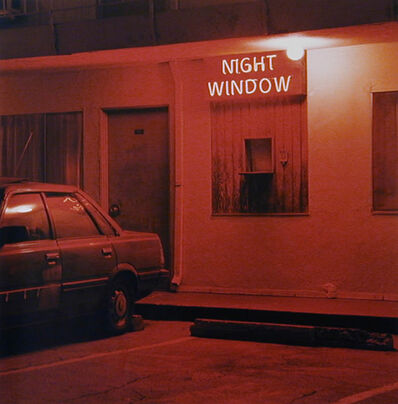 Jeff Brouws, 'Night Window, Los Angeles, California', 2000