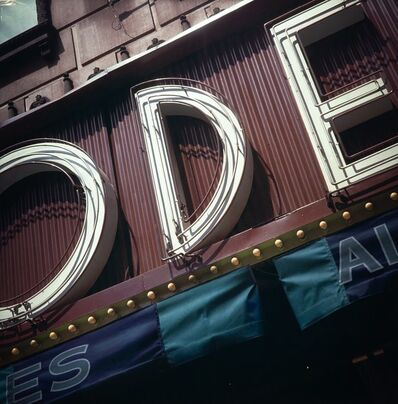 Robert Cottingham, 'Ode' (lightbox)', 2009