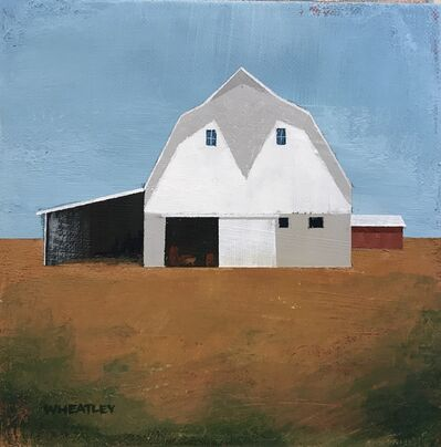 Justin Wheatley, 'White Barn ', 2020