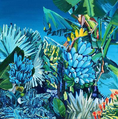 Alejandra Atares, 'Blue bananas', 2019